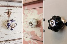 Cabinet Knobs | Dresser Knobs | Blue And White Porcelain