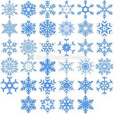 Snowflakes Vector Art Illustration Frozen Silhouette, Silhouette Cameo Christmas, Cute Fall Wallpaper, Snow Flake Tattoo, Paper Snowflakes, Christmas Templates, Christmas Paintings, Sugar Art, Stone Art