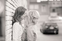 Lesbian engagement photos. Kristen Alli