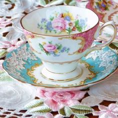 Lady Argyle teacup...my very favorite!