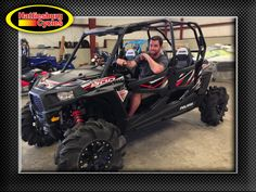 Thank you Robert Turley from Cantonment FL for getting a 2017 Polaris RZR 4 900 #polaris