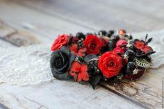 Купить Браслет Роковая женщина - браслет, Браслет ручной работы, авторская ручная работа
