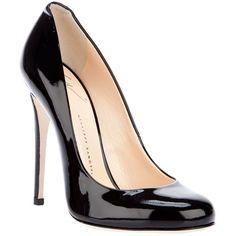 Patent Pumps ($459) ❤ liked on Polyvore featuring shoes, pumps, women, high heel stilettos, black patent leather pumps, patent leather shoes, stiletto pumps and giuseppe zanotti pumps