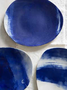 Ceramic blue Platter,Ceramic Oval Tray,Serving Plattere,Gift For Her by 1220CeramicsStudio on Etsy