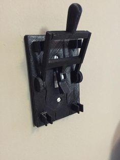 Frankenstein style light switch plate - $10