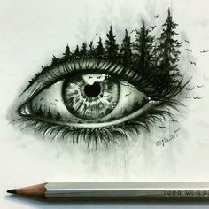 Astonishing eye pencil drawing amazing pencil drawings, amazing sketches, p Eye Pencil Drawing, Realistic Eye Drawing, Drawing Eyes, Painting & Drawing, Drawing Artist, Pencil Drawings Of Eyes, Animal Pencil Drawings, Creative Pencil Drawings, Amazing Drawings