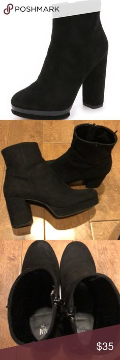 TGIF sale Suede booties Faux suede booties. H&M Shoes Ankle Boots & Booties