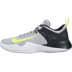 Nike's latest and greatest Women's Air Zoom Hyperace Volleyball Shoe at Aries Apparel. Still as durable as the Hyperspike and designed for hard courts, but now with added Zoom Air for lightweight cushioning. Be the first on your team to have this popular shoe! - $120