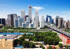 landscape of modern city, Beijing