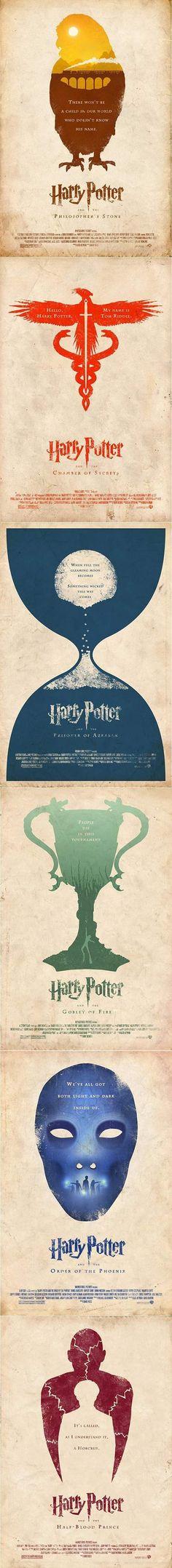 Harry Potter Minimalist Posters