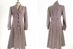 Vintage Tweed Coat S by snootieseconds on Etsy, $139.00