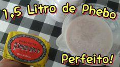 1,5 L DE SABONETE LIQUIDO PHEBO COM 1 BARRA DE 90 G. RENDE MUITO!