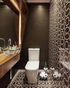 Cuba de vidro: 70 ideias para impressionar com a beleza da transparência – Tua Casa Sistema Drywall, Modern Powder Rooms, Home Deco, Art Decor, Instagram, Design, Bathroom Updates, Pallet, Evolution
