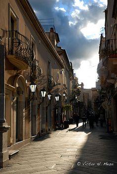 Taormina streets, Sicily