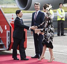 HRH the Crown Prince of Japan visited Denmark