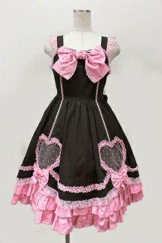 Angelic Pretty / キューティーハートジャンパースカート