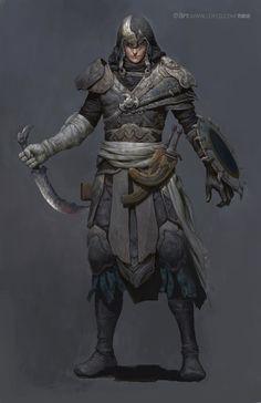 Warrior by FenghuaArt.deviantart.com on @DeviantArt