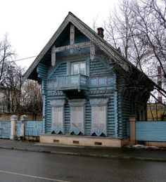 Russian Wood Cottage, Moscow 1856