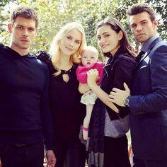 The Mikaelsons - Klaus, Rebekah, Hope, Elijah. And Hayley! Pintirest: @DanyelaChan ♔ Follow Me