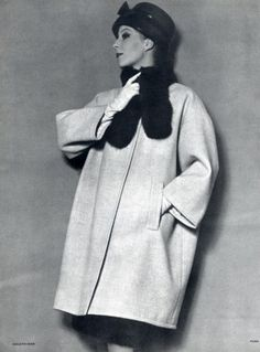 Balenciaga 1960 Coat Photo Pottier by Philippe Pottier | Hprints.com