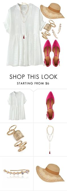 """""""1118."""" by adc421 ❤ liked on Polyvore featuring WithChic, Charlotte Russe, Topshop and Shashi"""