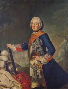 Antoine Pesne: Friedrich II. (der Große) von Preußen.