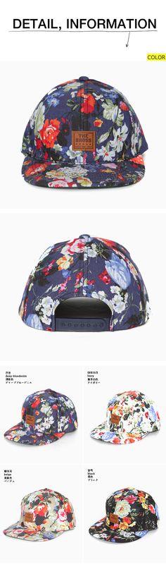 カラフルフラワーパターンキャップ・全4色アクセサリーキャップ・帽子・ニット帽|レディースファッション通販 DHOLICディーホリック [ファストファッション 水着 ワンピース]