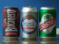 The Best Cuban Beers! What the tourists drink, and what the locals prefer! ⋆ Best Cuba And Havana Casas Particulares Cuba Rum, Cafe Cubano, Holguin, Cuba Travel, Cuban Recipes, Packaging Design Inspiration, Wine Drinks, Havana, Margaritas