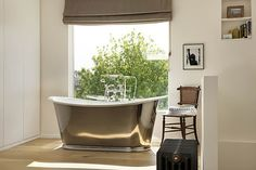 Modern Tub with a View