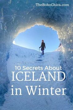 Secrets about Visiting Iceland in Winter: What you need to know before you decide to travel around Iceland in winter and how to prepare.