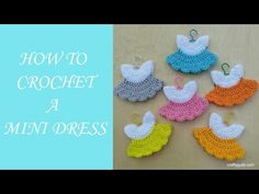 How to Crochet a Mini Dress - YouTube