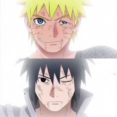 Sasuke Uchiha and Naruto Uzumaki || Naruto Shippuden