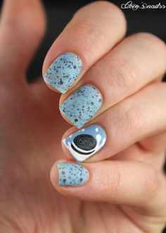 Nailpolis Museum of Nail Art | Oreo nail art ! by Cocosnailss