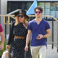 Darren Criss & Mia Swier out in Los Angeles on April 10