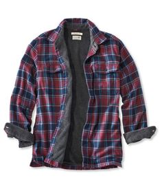 Mens Fleece-Lined Flannel Shirt Traditional Fit - Fleece Shirt -ideas of Fleece Shirt - Fleece Lined Flannel Shirt, Flannel Shirt Outfit, Mens Flannel Shirt, Mens Fleece, Camping Attire, Mens Tactical Pants, Picnic Outfits, Men's Outfits, Mens Fashion Wear