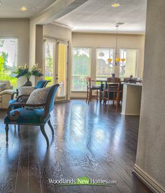 #hardwood #floors throughout first story.