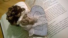 Heart Wood create with traforo and pirografo.handmade 😉