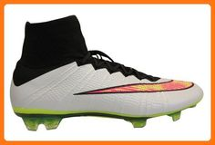 Nike Men s Mercurial SuperFly IV FG Soccer Cleats (White Black Hyper Pink . Futebol  NikeHomens NikeChuteiras ... 4945482051c08