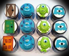 Monsters Inc Cake | Monsters Inc cupcakes - by Skmaestas @ CakesDecor.com - cake ...