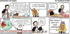 Breaking Cat News by Georgia Dunn for Aug 6, 2017 | Read Comic Strips at GoComics.com