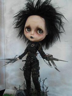 Edward Scissorhands Blythe Doll