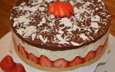 Aardbei-Zoethout taart
