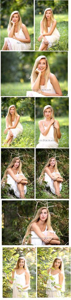 Senior Portrait Photographer Natalie Vondersmith. #seniorpics