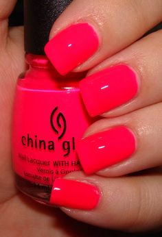 China Glaze Pool Party, love this color. Did my nails in this today. Thanks…                                                                                                                                                                                 More