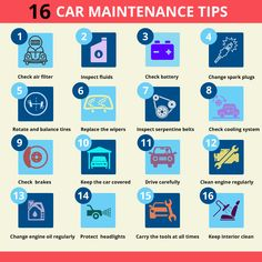 All these would culminate to extending the life of your car and prevent serious repairs. Car Accident Lawyer, Accident Attorney, Learning To Drive Tips, Safe Driving Tips, Car Checklist, Car Facts, Car Care Tips, Bad Drivers, Winter Tyres