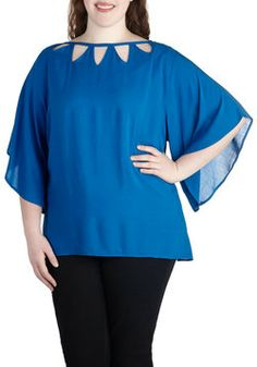 Lunch by the Lake Top in Plus Size, #ModCloth