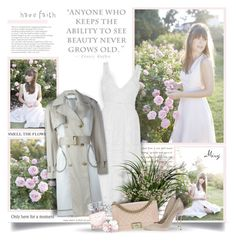 """""""Life Begins The Day You Start A Garden"""" by thewondersoffashion ❤ liked on Polyvore featuring Christian Dior, self-portrait, Wanda Nylon, Chanel and Casadei"""