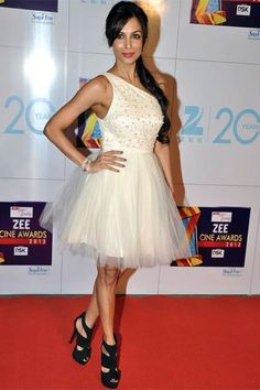 Malaika Arora Khan in Alice + Olivia. http://www.vogue.in/content/best-dressed-zee-cine-awards-2013#9