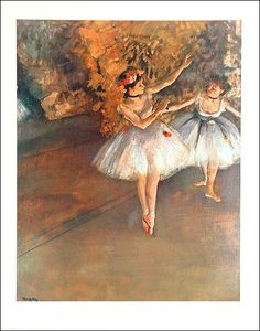 I absolutely love Degas.  Beautiful work.