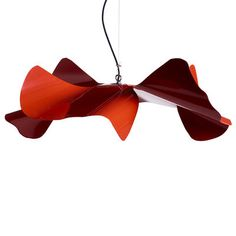Suspension Coquelicot Large / Ø 90 cm - Acier Rouge - Opinion Ciatti